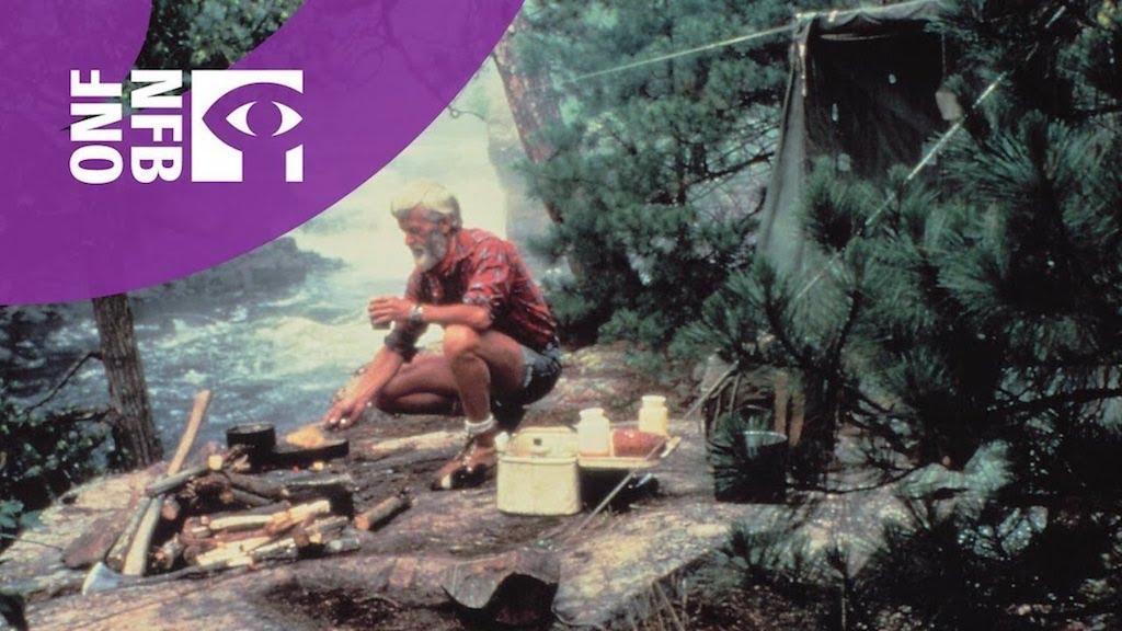 Обложка «Waterwalker» - документального фильма Билла Мэйсона. 1984 год