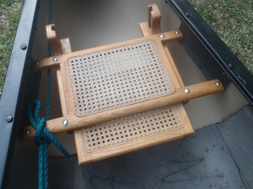 складное деревянное сидение для каноэ