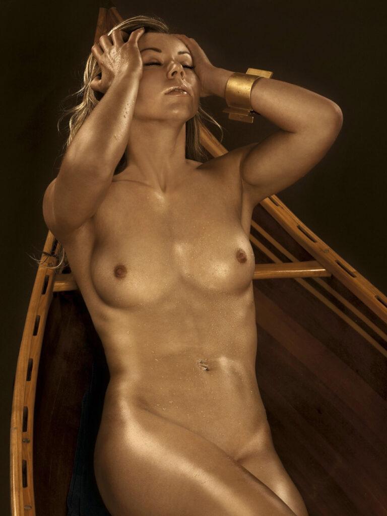 Николь Райнхардт. Грудь для журнала Playboy De
