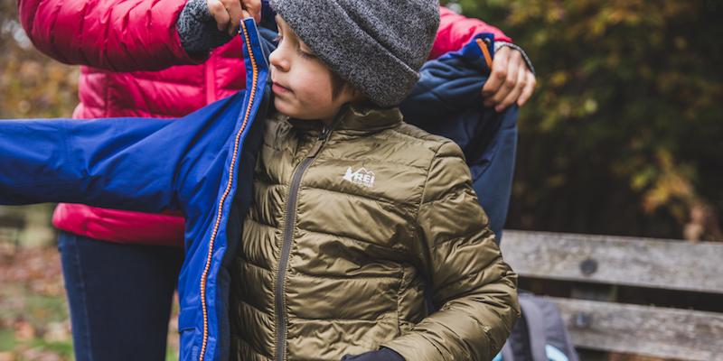 многослойность одежды - главный принцип в любом походе