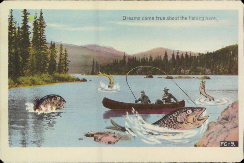 рыбалка-в-каноэ-открытка